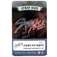 STRAY SKID TRANSPARENT PHOTO CARD Photocard 25pcs