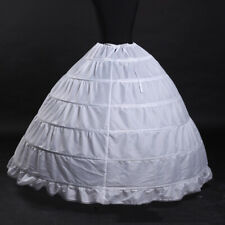 c1baa5be68c3 Women 6 Hoop Prom Wedding Bridal Crinoline Petticoat Dress Slip Skirt  Underskirt