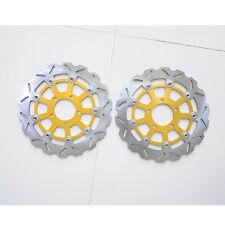 PAS Front Brake Disc Rotors For Suzuki GSXR600 GSXR750 K4/K5 GSXR1000 K3/K4 Pair