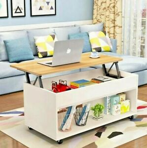 Modern Adjustable Lift Up Coffee Table