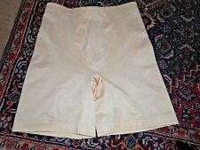Vintage UNDERSCORE Girdle Size XL Beige/ Nude Long Leg Style