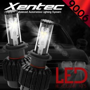 388W 38800LM 4-Sides LED Low Beam Headlight Kit 9006 HB4 9012 6000K White Bulbs