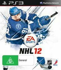 NHL 12 PlayStation 3 Game USED