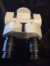 Leica Surgical Microscope 0 180 Binoculars 10x21b Eyepieces Eyecups