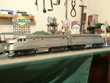"Lionel Postwar 2023 Union Pacific""1951""Silver Alco AA Diesels serviced & ready !"
