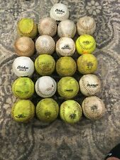 21 Used Trump Softballs - Worth Trump Dudley Baiden Powerbolt