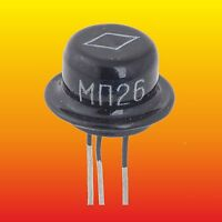 MP25B LOT=5 RUSSIAN Ge PNP TRANSISTOR 0.2 W 0.4 A ~ 2N186A 2N190 2N44 2SB172