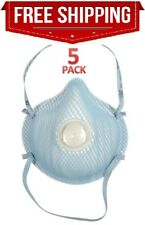 New Listing⚡�5-Pack⚡� New Moldex (2300 Series) with valve - Sale Ends July 12 💥