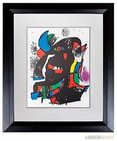 Joan MIRO Lithograph LIMITED Ed. Cat. Reference incl. +Custom FRAME ~Modern NOW™