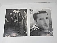 VINTAGE PROMOTIONAL PROMO SIGNED AUTOGRAPHED ROCK BAND GROUP PHOTO PHOTOGRAPH