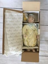 "Ashton-Drake ""Daisy Chain"" (#1525-A) Porcelain Doll New In Box And Plastic"