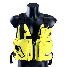 New Boat Buoyancy Aid Sailing Kayak Fishing Life Jacket Vest - D13 -Yellow Am Us