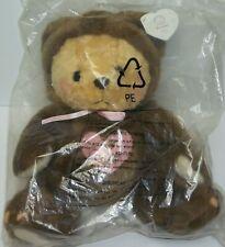 Cherished Teddies Grumps Plush Bear New in sealed bag # 790613