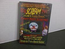 Big SCREAM TV! Volume 2 Funny Bones! NEW! FREAKY PARTY ILLUSIONS! TRICK OR TREAT
