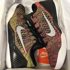 NEW DS Nike Zoom Kobe Ix 9 ID Sz 11 Multicolor Flyknit Low MC Black White IV V X