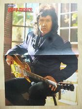 Gary Moore Autogramm signed Poster 28x41 cm gefaltet