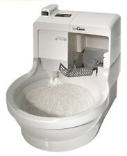 Cat Litter Box No Odor Dust Cleans Dries Itself