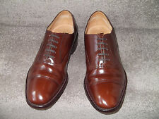 Lightly Worn LOAKE 747 Classic Toe Cap Oxford Shoes UK7 (F)