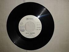 "Piero Aloise / Stevie Wonder–Disco Vinile 45 Giri 7"" Edizione Promo Juke Box"
