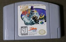 Clay Fighter  63  Nintendo Vintage AUTHENTIC NES 64 Game