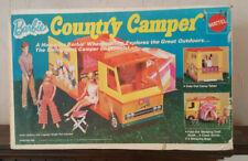 1970s Vintage Mattel Barbie Doll Country Camper In Original Box