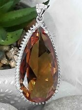 STERLING 925 SILVER HANDMADE JEWELRY ALEXANDRITE COLOR CHANG PENDANT