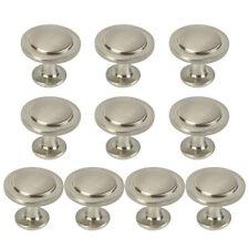 10/20x Kitchen Cabinet Pull Handle Door Drawer Hardware Home Knob Satin Nickel