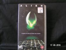 ALIEN IN SPACE NO ONE CAN HEAR YOU SCREAM  THIS IS A VHS TAPE NOT DVD