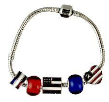 Patriotic Story Charm Bracelet