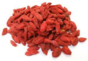 Goji Berries 1kg Dried Wolf Berry 100% Pure Premium Best Quality FREE FAST P&P