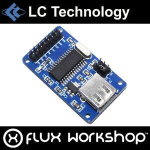 LC Technology CH375B USB Disk Module Host Read Write Data Arduino Flux Workshop
