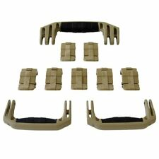 New Pelican Tan 1650 replacement latches (7) & handles (3) - kits.