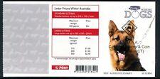 2008 Working Dogs (G Shepperd) SB287 - S.C.D.A.A. Canberra Fair Series 35 No131