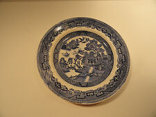 Vintage Blue Willow Plate B.A.P.C.