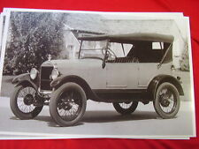 1926 FORD MODEL T  TOURING  11 X 17  PHOTO   PICTURE