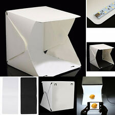 Foldable Med Photo Studio Light Box Potable Tent Lightweight Medium 40cm