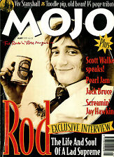 MOJO no. 18 May 1995 : ROD STEWART / VIV STANSHALL / SCOTT WALKER / JACK BRUCE