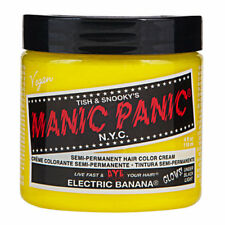 Electric Banana Yellow Manic Panic Vegan 4 Oz Hair Dye Color