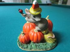 """CHARMING TAILS BY FITZ & FLOYD """"THE GOOD WITCH"""" HALOWEEN  NIB"""