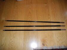 3 original alte Spazierstock Stöcke auch Schuss genannt länge 87 cm um 1900 - 20