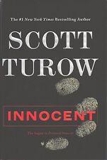 INNOCENT Scott Turow NEW 1 Edition 1P HARDCOVER Book MINT 2010 Presumed Sequel