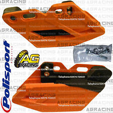 Polisport Performance Orange Chain Guide For KTM EXC-F 350 Six Days 2012-2016