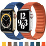 For Apple Watch Leather Link Magnetic Strap Band Series 6 SE 5 4 2020 latest UK