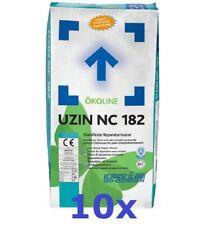 Uzin NC 182 - 10 x 25 KG - Standfeste Reparaturmasse * Repair Mortar * Masa