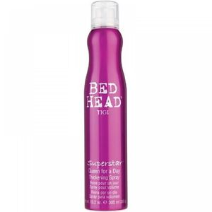 TIGI BED HEAD SUPERSTAR QUEEN FOR A DAY HAIR THICKENING VOLUMIZER SPRAY 10.2 OZ