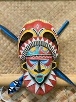 NEW Papaua New Guinea style Tiki Mask Smokin' Tikis