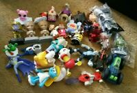 Mcdonalds Happy Meal Toys Lot Of 29 With Burger King & Misc Fast Food Toys *used