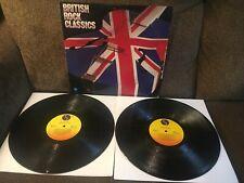 COMPILATION: BRITISH ROCK CLASSICS 1979 Sire DBL LP R234021 VG+/EXC-