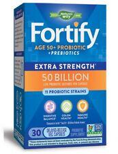 NATURE'S WAY - Fortify Edad 50+ 50 Mil Millones Probiótico - 30 Cápsulas