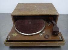 "Antique Gramophone turntable Perpetuum "" Cosmophon "" Plattenspieler 1930er Jahre"